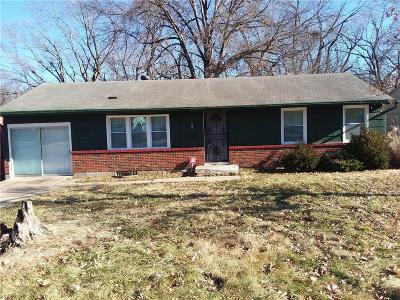 Kansas City MO Single Family Home For Sale: $59,000