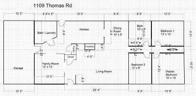 Pomona Single Family Home For Sale: 1109 Thomas Road