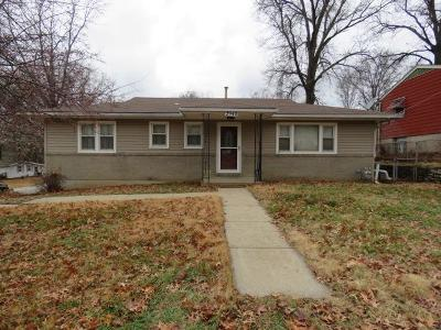 Kansas City Single Family Home For Sale: 2940 N 64th Street