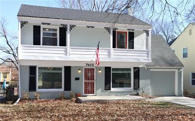 Kansas City Single Family Home For Sale: 7415 Campbell Street