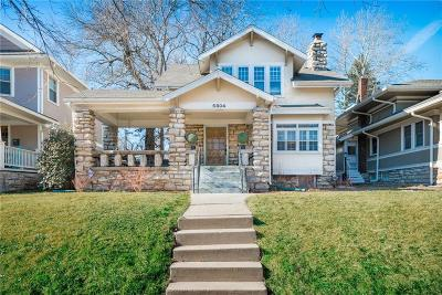 Cass County, Clay County, Platte County, Jackson County, Wyandotte County, Johnson-KS County, Leavenworth County Single Family Home For Sale: 5804 Brookside Boulevard