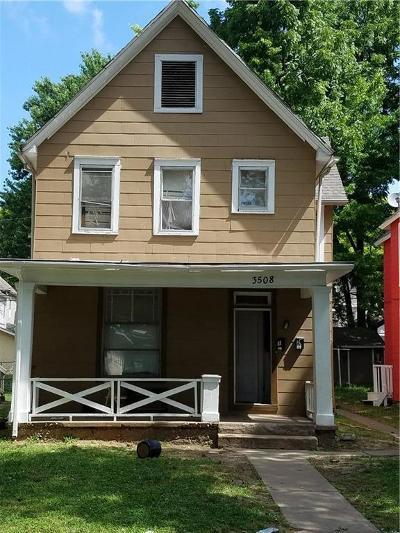 Kansas City Multi Family Home For Sale: 3508 Roberts Street