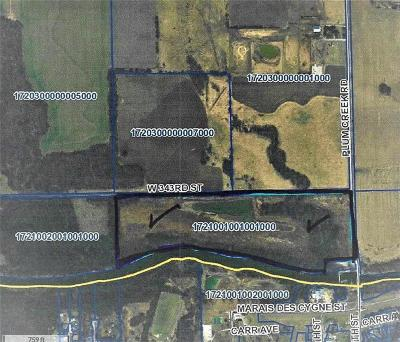 Miami County Residential Lots & Land For Sale: 00000 W 343 Street