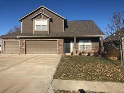 Bonner Springs KS Single Family Home For Sale: $225,000