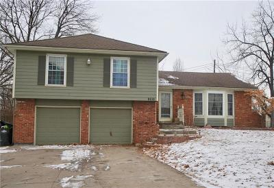 Overland Park Single Family Home For Sale: 9516 Connell Drive