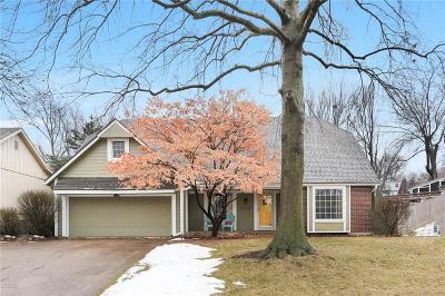 Lenexa KS Single Family Home For Sale: $300,000