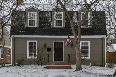 Single Family Home For Sale: 7507 Walnut Street