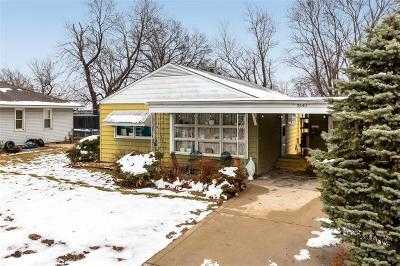 Wyandotte County Single Family Home For Sale: 3141 S 46th Terrace