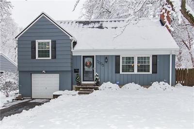Prairie Village KS Single Family Home For Sale: $279,000