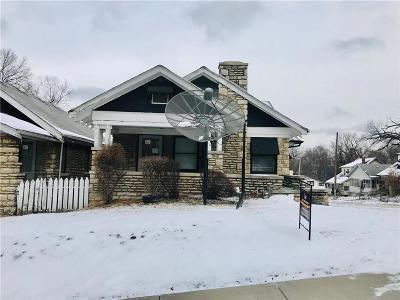 Kansas City MO Single Family Home For Sale: $43,500