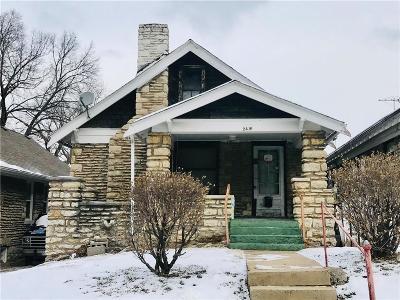 Kansas City MO Single Family Home For Sale: $40,500