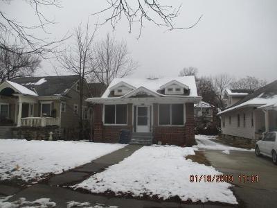 Kansas City MO Single Family Home For Sale: $52,900