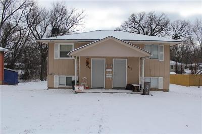 Bonner Springs KS Multi Family Home For Sale: $85,000