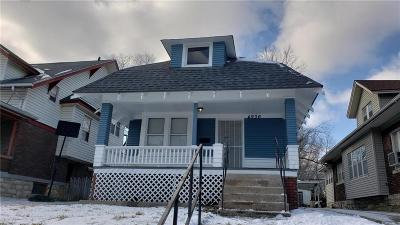 Kansas City Single Family Home For Sale: 4936 College Avenue