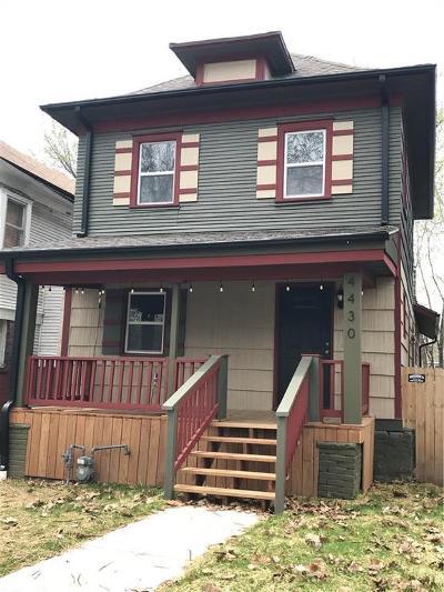 Kansas City Single Family Home For Sale: 4430 Forest Avenue