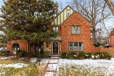 Single Family Home For Sale: 6460 Overbrook Road