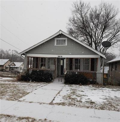 Kansas City Single Family Home For Sale: 3819 E 35th Street