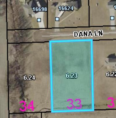 Leavenworth County Residential Lots & Land For Sale: 00000 Dana Lane