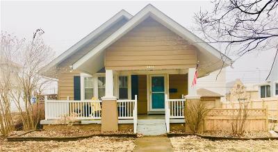 Kansas City Single Family Home For Sale: 7137 Washington Street