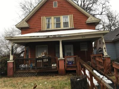 Kansas City Single Family Home For Sale: 3610 E 29th Street