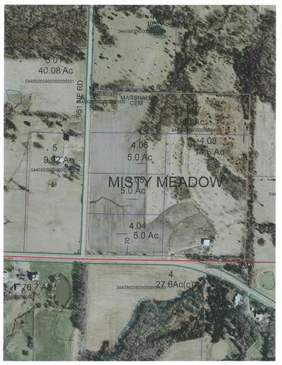 Knob Noster Residential Lots & Land For Sale: 82? NE 951 Road