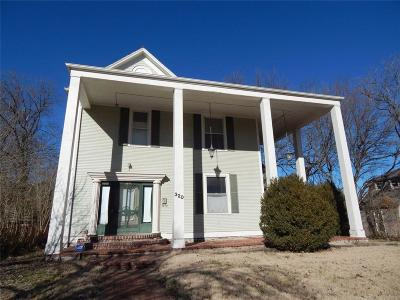 Miami County Single Family Home For Sale: 320 Main Street