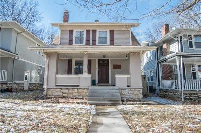 Kansas City Single Family Home For Sale: 5910 Cherry Street