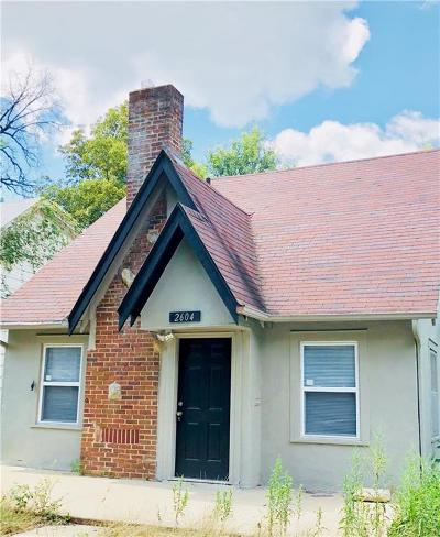 Kansas City MO Single Family Home For Sale: $80,000