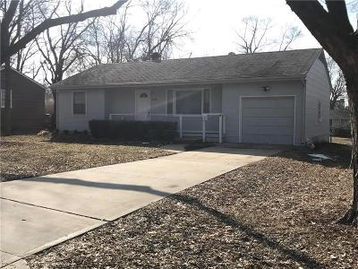 Kansas City MO Single Family Home For Sale: $95,000