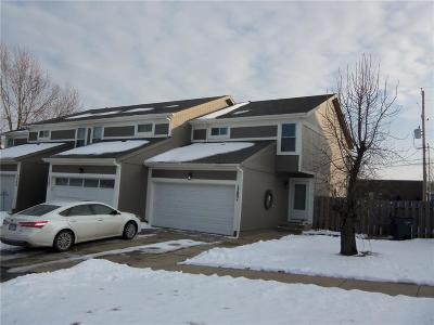 Olathe Condo/Townhouse For Sale: 1303 E 123rd Terrace #D