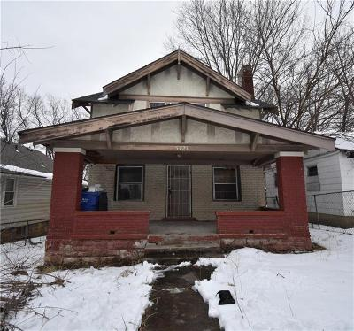 Kansas City Single Family Home For Sale: 5121 Wabash Avenue