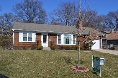 Prairie Village Single Family Home For Sale: 4912 W 66th Street