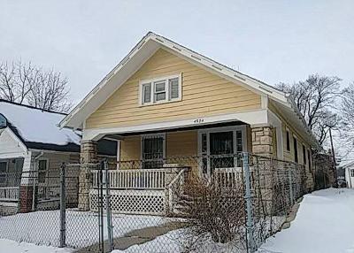 Jackson County Single Family Home Auction: 4524 Chestnut Avenue