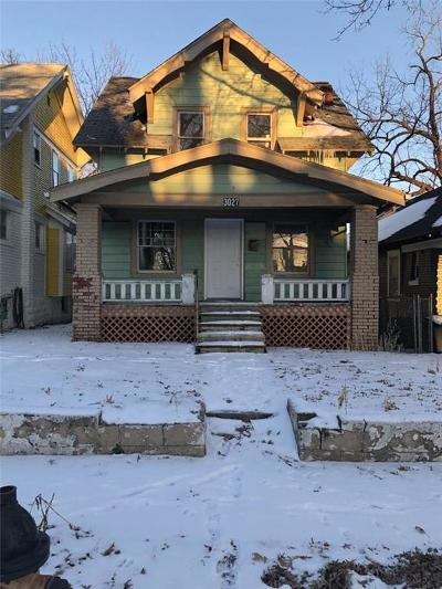 Kansas City Single Family Home For Sale: 3027 Walrond Street