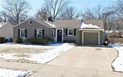Prairie Village Single Family Home Show For Backups: 4815 W 71st Terrace