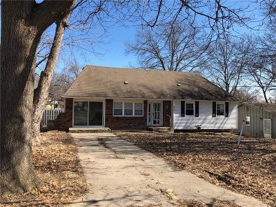 Kansas City Single Family Home For Sale: 837 N 84th Street