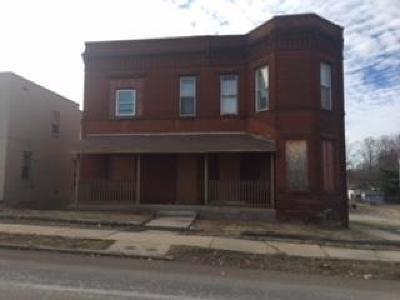 St Joseph MO Multi Family Home For Sale: $65,000