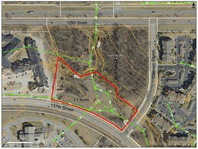 Overland Park Residential Lots & Land For Sale: 137th Street