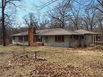 Baldwin City Single Family Home For Sale: 137 E 1250 Road