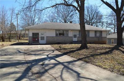 Kansas City MO Single Family Home For Sale: $89,900