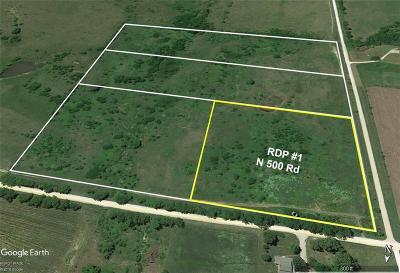 Douglas County Residential Lots & Land For Sale: Rdp #1 N 500th Road