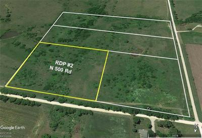 Douglas County Residential Lots & Land For Sale: Rdp #2 N 500th Road