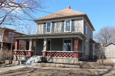 Cass County, Clay County, Platte County, Jackson County, Wyandotte County, Johnson-KS County, Leavenworth County Single Family Home For Sale: 1210 W Waldo Avenue