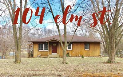 Henry County Single Family Home For Sale: 104 Elm Street