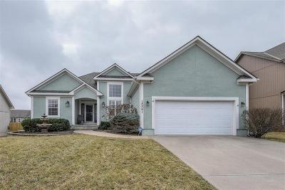 Olathe Single Family Home Contingent: 18241 W 157th Terrace
