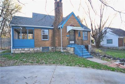 Wyandotte County Single Family Home For Sale: 4325 Victory Drive