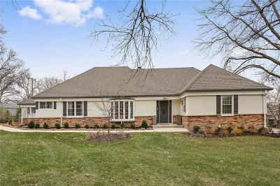 Leawood Single Family Home For Sale: 9845 Overbrook Road