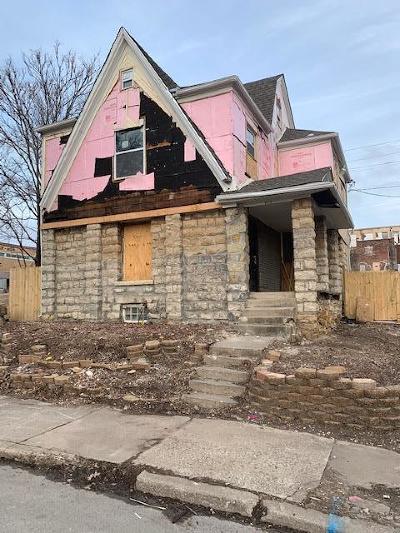 Kansas City Single Family Home For Sale: 3115 Harrison Street