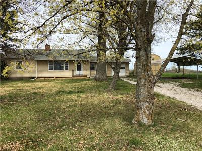 Leavenworth County Single Family Home For Sale: 16614 Lecompton Road