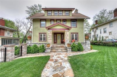 Kansas City Single Family Home For Sale: 6017 Wornall Road
